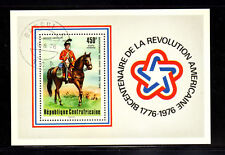 CENTRAL AFRICAN REPUBLIC #C144 1976 AMERICAN BICENT. MINT  VF NH  O.G   S/S CTO