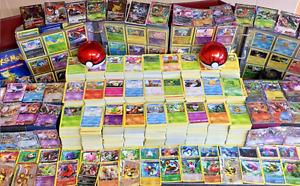 Pokemon Cards Bundle! Joblot 5x - 300x Cards-100% Genuine UK Cards/UK Seller