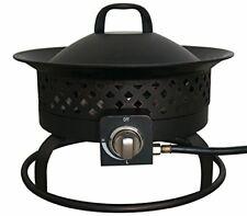 Bond Manufacturing 67836 50,000 Btu Aurora Portable Steel Gas Fire Pit Outdoor C