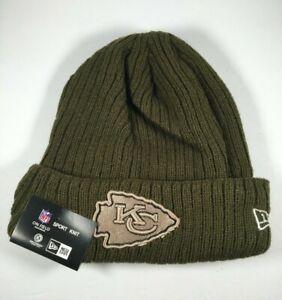 Kansas City Chiefs New Era NFL Salute to Service Sport Knit Cap Toboggan NWT