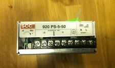 SCC POWER SUPPLY 920 PS-5-50
