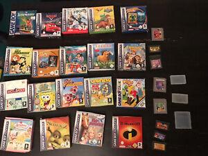 Gameboy Spielesammlung mit 27 Games