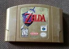 Legend of Zelda: Ocarina of Time Gold Collectors Edition (Nintendo 64, N64) Cart