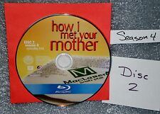 BLU-RAY Replacement JUST # 2 DISC How I Met Your Mother Season 4 NOT THE SET