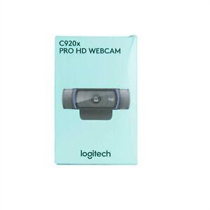 LOGITECH WEBCAM C920X HD PRO WEBCAM 1080P PC MAC CHROME OS DUAL MIC 960-001335