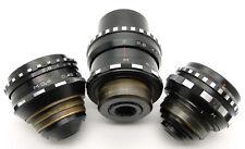 ⭐SERVICED⭐ 3 x Lenses Russian Kiev-16U BMPCC Blackmagic Pocket Cinema Camera