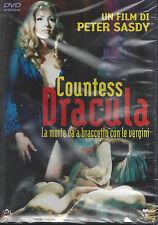 Dvd **COUNTESS DRACULA ♦ LA MORTE VA A BRACCETTO CON LE VERGINI** nuovo 1972