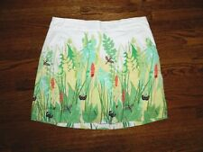 Women's Lady Hagen Summer Scene Golf Skirt Size 2