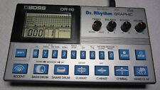 Boss DR-110 vintage analog Drumcomputer Dr. Rhythm Graphic - Roland Sounds top!