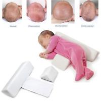 Newborn Baby Side Sleep Pillow Soft Velvet Memory Foam Pillow - 0-2 year