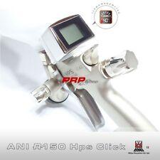 Ani R150 Hps Click 1.2 Mini Aerografo Con Manometro Digitale in Valigetta