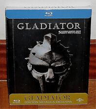 GLADIATOR GLADIADOR STEELBOOK BLU-RAY NUEVO PRECINTADO AVENTURAS (SIN ABRIR) R2