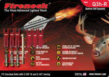 Firenock Hunting lighted nock Q3h-R crossbow arrows (Standard package)