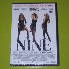 DVD.- NINE - DANIEL DAY LEWIS - PENELOPE CRUZ - PRECINTADA