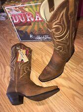 Durango Crush Western Cowgirl Tan Jealousy Boots Brown Rd3514 Women's 9M