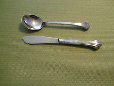 Gorham Quintette stainless master butter and sugar spoon