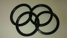 Pedal Car Parts Set of 4 - 7-1/2 inch Pedal Car Tire/ Round Tread
