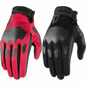 2020 Icon Womens Hooligan Motorcycle Gloves - Pick Size/Color