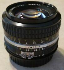Nikon Nikkor 50mm f/1.4 AI lens