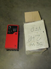 SEW EURODRIVE MCLTPA0015603420 FREQUENCY INVERTER DRIVE 2HP MOVITRAC LTP  *NIB*