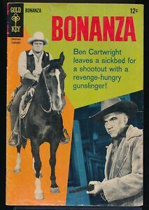 BONANZA No. 27 1968 Gold Key Comic Book Photo Cover 2.0 GD