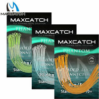 Maxcatch 10PCS 30/50lb Fly Fishing Braided Leader Loop Connectors
