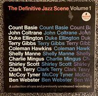 "IMPULSE RECORDS ""The Definitive Jazz Scene Vol 1"" LP Vinyl, Coltrane, Mingus"