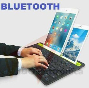 Tastiera wireless bluetooth con supporto iPhone iPad tablet Samsung  Portatile