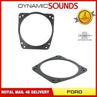 CT25FD01 130mm Front Door Speaker Adaptor Kit Rings For Ford Fiesta 1989-2001
