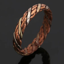 Men'S Tibetan Medicine Ring Copper Magnetic Adjustable Ring With Pure Copper