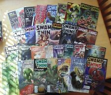 Swamp Thing Comic Issues 1 through 6 and issues 8 through 29