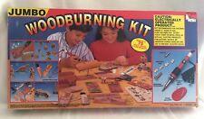 Jumbo Woodburning Kit Nsi Vintage 1993 New Open Box
