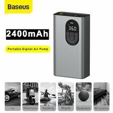 Baseus LED Electrico Compresor de aire coche bomba de presión de bola portátil Inflador de Neumáticos