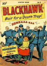 Blackhawk comics on DVD over 250