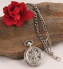 LOOOOK! Great Groomsman Wedding Gift SP Pocket Watch 15