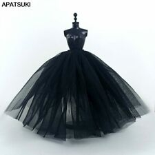 "Black Petticoat Slip For 11.5"" 1/6 Doll Accessories Wedding Dress Underskirt DIY"
