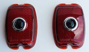 1947 1948 1949 1950 1951 1952 1953   Chevy TRUCK Blue Dot tail light lenses 2 pc
