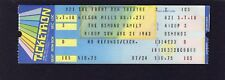 1983 The Osmond Family Unused Concert Ticket Highland Heights Ohio Donny Marie
