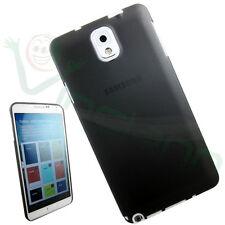 Custodia ultra sottile 0,3mm NERA trasparente per Samsung Galaxy Note 3 N9005