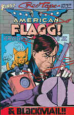 American Flagg! # 21 (Howard Chaykin, Alan Moore) (USA, 1985)