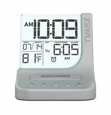 Timex Color Changing Dual Alarm Clock with 1A USB Charge (T125SC) Free Shipping