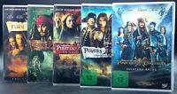 DVD: Sammlung FLUCH DER KARIBIK 1-5 (1 + 2 + 3 + 4 + 5) / Komplett Deutsch