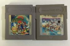 Super Mario Land 1 + 2 Acc LOT Original Nintendo Gameboy Clean Tested