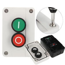 XEL-2 NC Emergency Stop NO Red Green Push Button Switch Station 440V 10A W/ Box