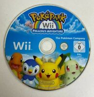 Pokemon PokePark Pikachu's Adventure Nintendo Wii - PAL. Tested. DISC ONLY