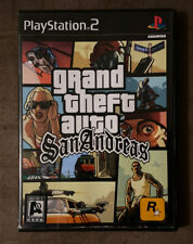 Grand Theft Auto San Andreas GTA Sony PlayStation 2 PS2 Works Great! Fast Ship!