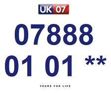 07888 01 01 **  - Gold Easy Memorable Business Platinum VIP UK Mobile Numbers