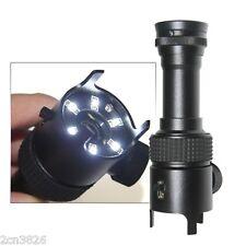 50X Minimikroskop Taschenmikroskop Vergrößerungsglas Juwelierlupe mit Skala