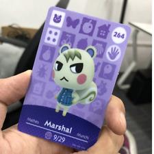Marshal #264 Amiibo Animal Crossing New Horizons Amiibo game villager Card