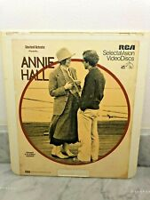 Annie Hall (Woody Allen) Rca Selectavision Videodisc Ced